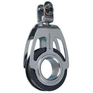 Garhauer Mast collar block with swivel shackle