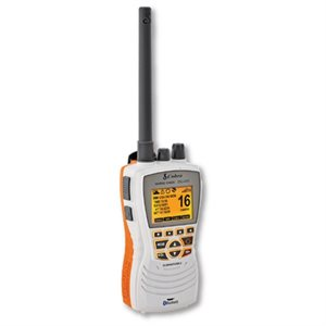 Handheld VHF / DSC floating radio HH600 with GPS and bluetooth (White)