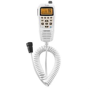 Microphone de Commande ICOM HM-195W Contrôle à distance (blanc)