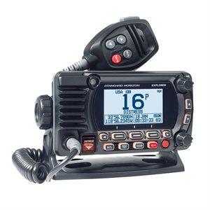 Radio VHF fixe Explorer GX1850 de Standard Horizon (noir)
