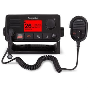 Radio VHF Raymarine Ray73 avec récepteur AIS