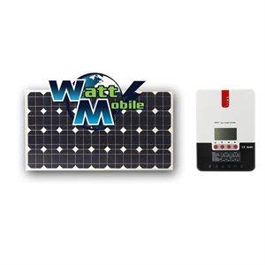 EcoSolPlanète 100W +MPPT 20A Rigid Solar Panels Kit