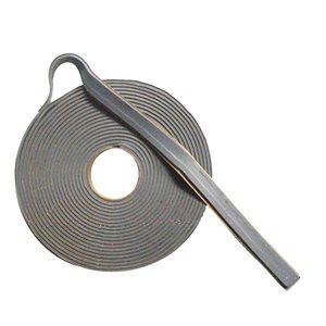 Soft butyl bedding tape 1 / 8 x 5 / 8 x 25' (grey)