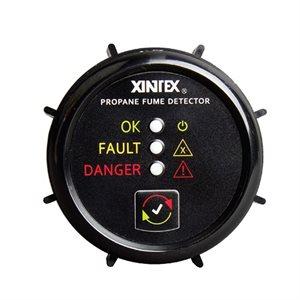 Xintex 2'' Round Propane Detector with 1 sensor