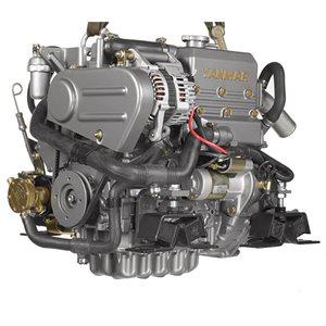 Yanmar diesel engine 21hp 3YM20G with transmission 2.62:1
