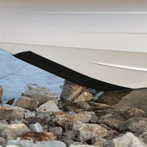 KeelGuard Boat Keel & Hull Protector (black) (10 ft.)