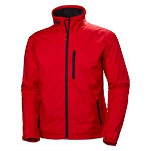 Helly Hansen Crew Jacket for men (red)