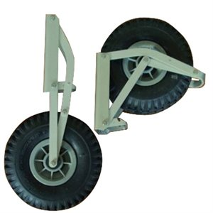 Beachmaster Removable Launching Wheels