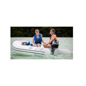 Inflatable boat KIT Zodiac Cadet 270 with aluminium floor (Alu) and Yamaha portable Outboard F2.5 SMHA