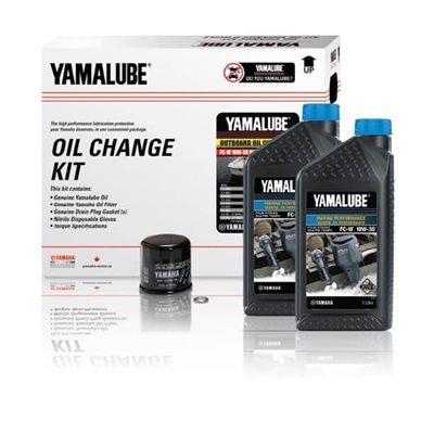 Kit de vidange d'huile 10W-30 4M produits nautiques de performance de YAMAHA - OB (4 L)
